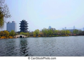 daming lake park jinan china 3 - The largest Taoist Temple...