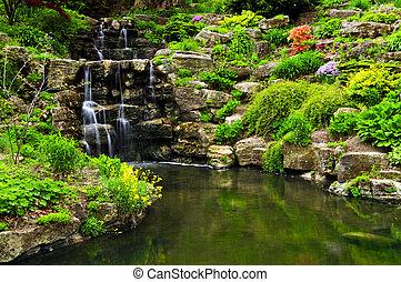 damm, vattenfall, cascading