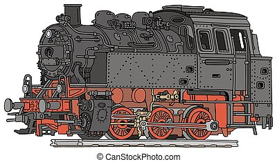 damp, lokomotiv