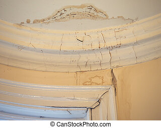 Damp moisture damage - Damage caused by damp and moisture on...