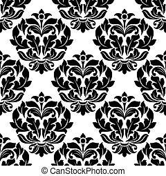 Damsk seamless pattern