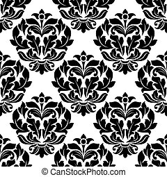 Damsk seamless pattern