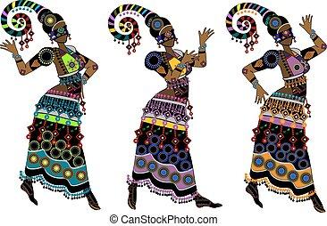 dança, étnico