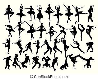 dança, bailarina