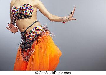 dança, barriga