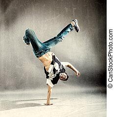 dança, extremo