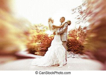 dança, noivinhos, casório