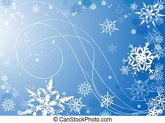dança, snowflakes