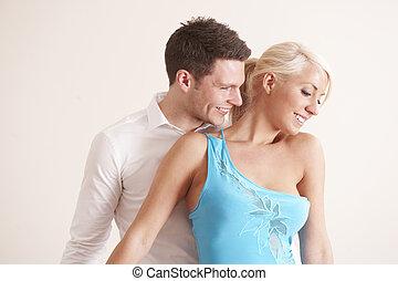 dançar novo pares, junto