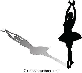 dançarino, balé