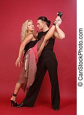 dançarinos, deslumbrante