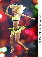 danças, latim