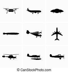 dan, heavier, vliegtuig, lucht, luchtvaart