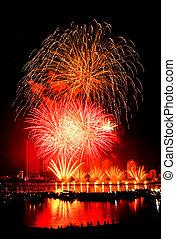 danang, tűzijáték, 2013, vietnam