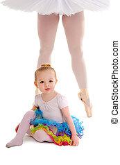 Dance Child with Ballerina Legs