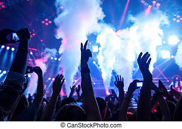 Dance club - Picture of rock concert, music festival, New...