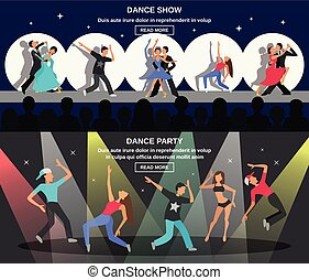 Dance Flat Banner