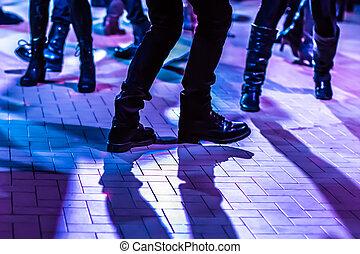 dance floor background