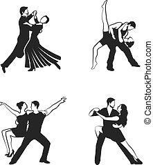 Dance Icons Set