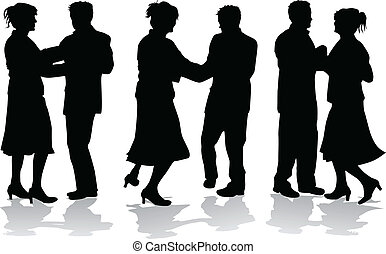 dance in pairs