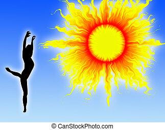 Dance in the sun