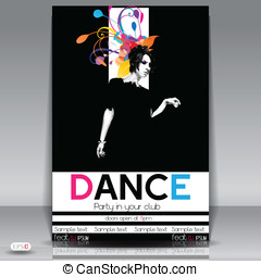 Dance Party Background.