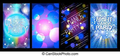 party background for flyers