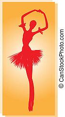 Dancer - Ballet dancing.