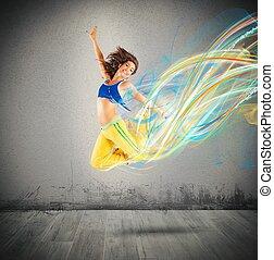 Dancer colors
