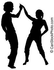 Dancer couples love