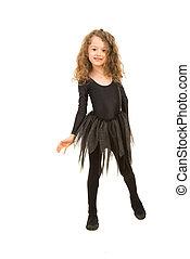 Dancer girl posing