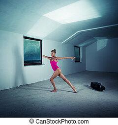 Dancer in the attic
