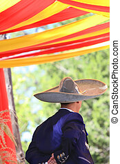 Mexican Hat Dance - Dancer performing the Mexican Hat Dance...