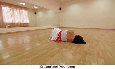dancer  practiced in Dance Studio