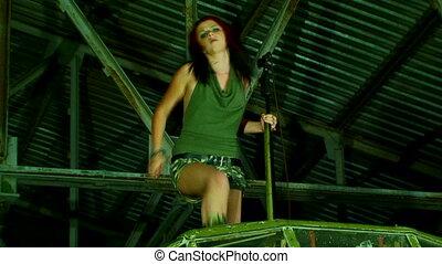 Dancer singer