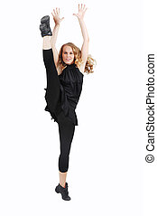 dancer woman exercising