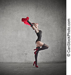 Dancer woman