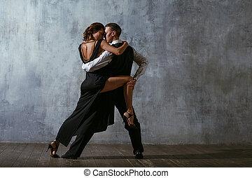 dancers., 舞踏会場ダンス, タンゴ, 対