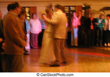 Dancers - Multicolored Dance on a Wedding Party