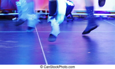 Dancing ballet girl