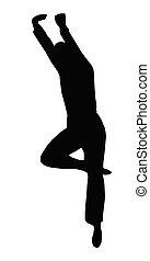 Dancing Boy Leaping