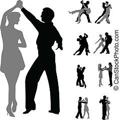 dancing couples