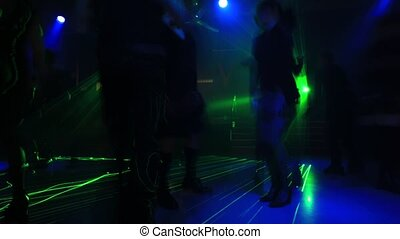 dancing floor time lapse
