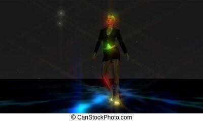 Dancing Girl Animation