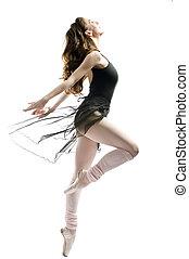 dancing gracefully