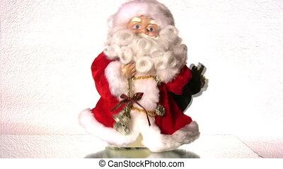 dancing, kerstman, speelbal