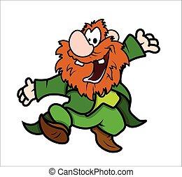 Dancing Leprechaun Character