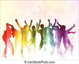 dancing, mensen
