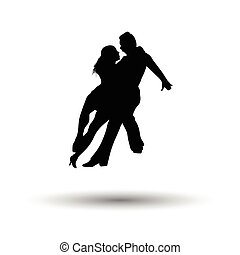 Dancing pair icon