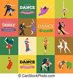 Dancing People, Dancer Bachata, Hiphop, Salsa, Indian,...